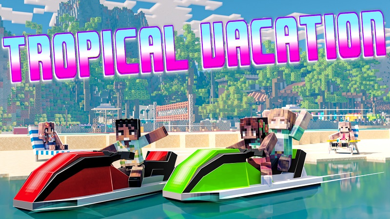 Tropical Vacation on the Minecraft Marketplace by Nitric Concepts
