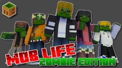 Mob Life Zombie Edition on the Minecraft Marketplace by MobBlocks