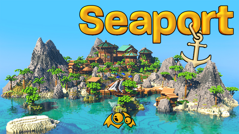 Seaport on the Minecraft Marketplace by Monster Egg Studios