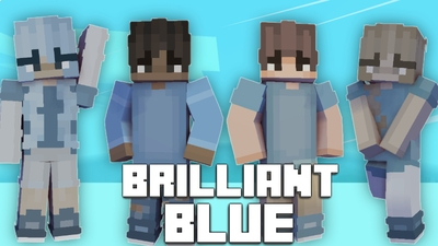 Brilliant Blue on the Minecraft Marketplace by Pixelationz Studios