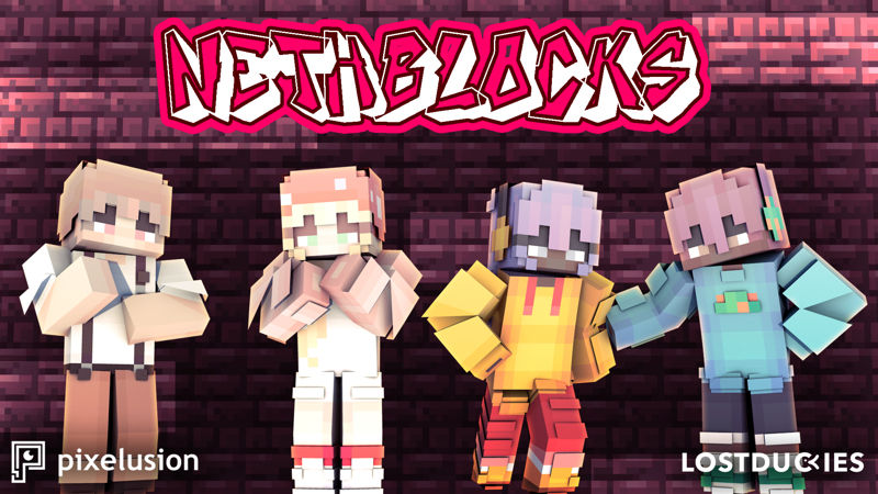 Nethblocks on the Minecraft Marketplace by Pixelusion