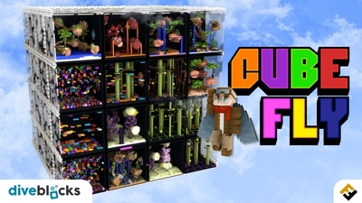 Cube Fly on the Minecraft Marketplace by Diveblocks