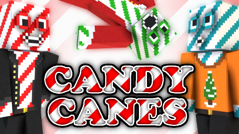 Candy Canes on the Minecraft Marketplace by CompyCraft