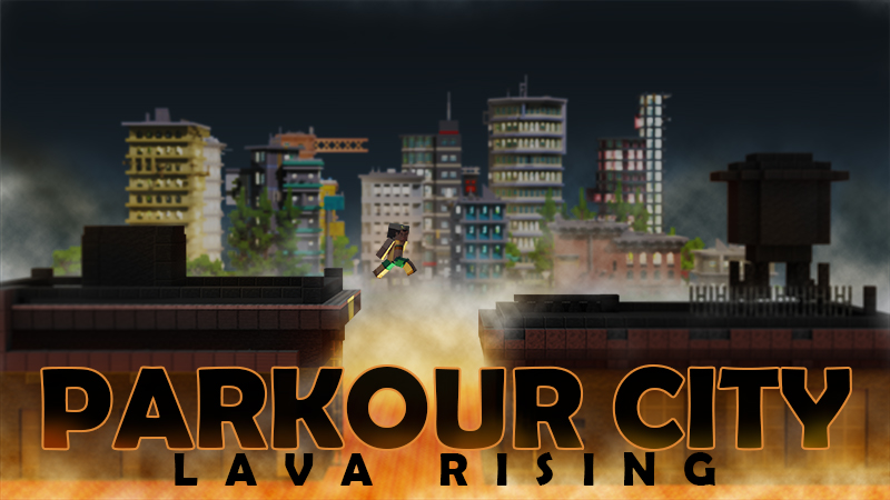 Parkour City Lava Rising on the Minecraft Marketplace by Tetrascape