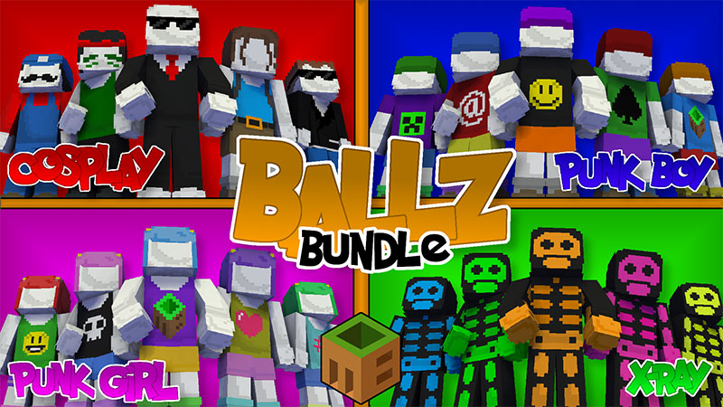 Ballz Bundle on the Minecraft Marketplace by MobBlocks