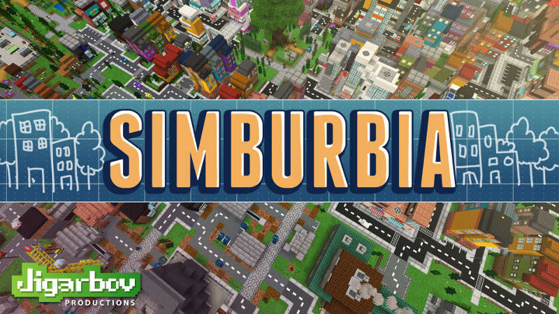 Simburbia on the Minecraft Marketplace by Jigarbov Productions