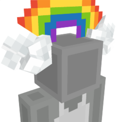 Rainbow Headband on the Minecraft Marketplace by BLOCKLAB Studios