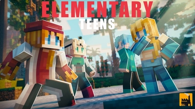 Elementary Teens on the Minecraft Marketplace by Block Factory