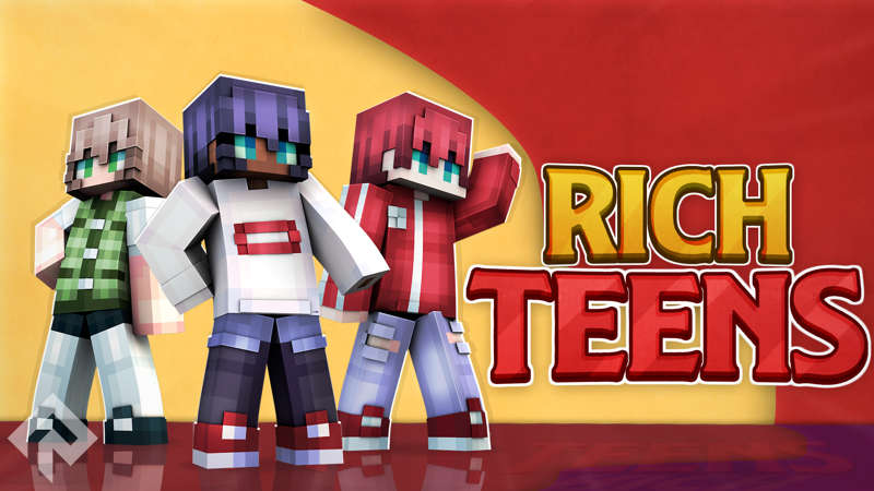Rich Teens on the Minecraft Marketplace by RareLoot
