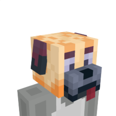 Dog Head on the Minecraft Marketplace by stonemasons