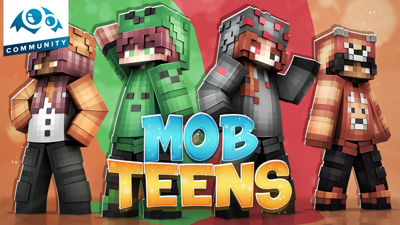 Mob Teens on the Minecraft Marketplace by Monster Egg Studios