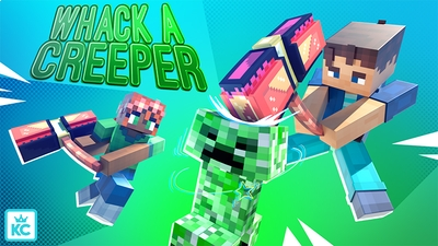 Whack a Creeper on the Minecraft Marketplace by King Cube