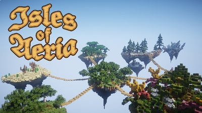 Isles of Aeria on the Minecraft Marketplace by Polymaps