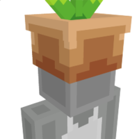 Flower Pot Hat on the Minecraft Marketplace by BLOCKLAB Studios