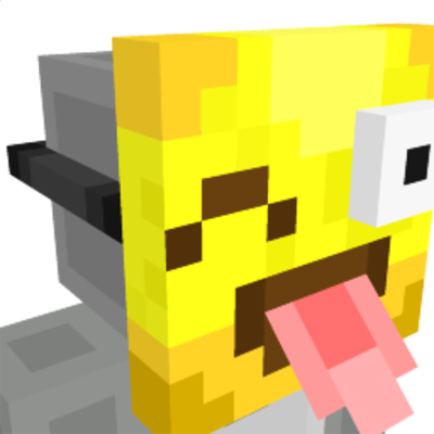 Tongue Out Emoji Mask on the Minecraft Marketplace by 57Digital