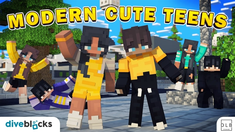 Modern Cute Teens on the Minecraft Marketplace by Diveblocks