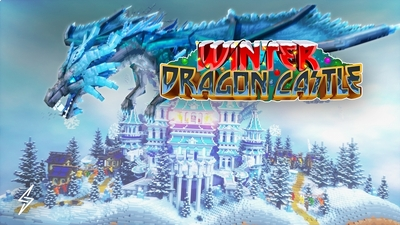 Winter Dragon Castle on the Minecraft Marketplace by Senior Studios