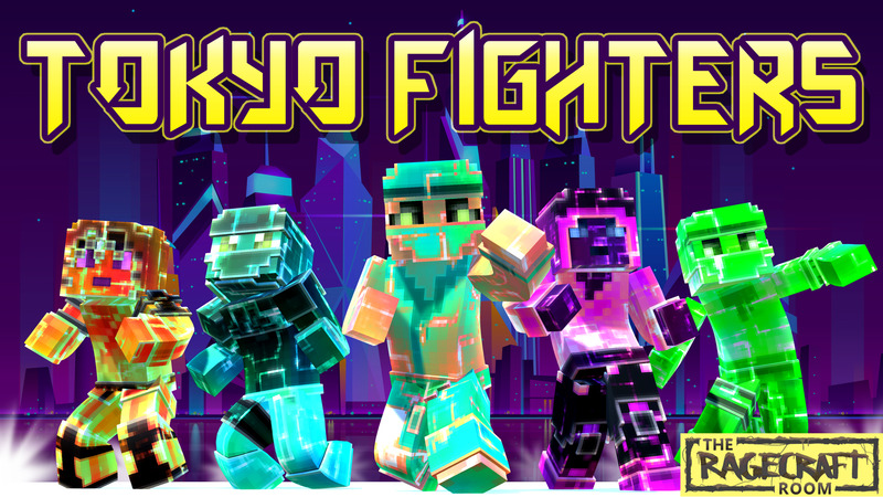 Tokyo Fighters on the Minecraft Marketplace by The Rage Craft Room