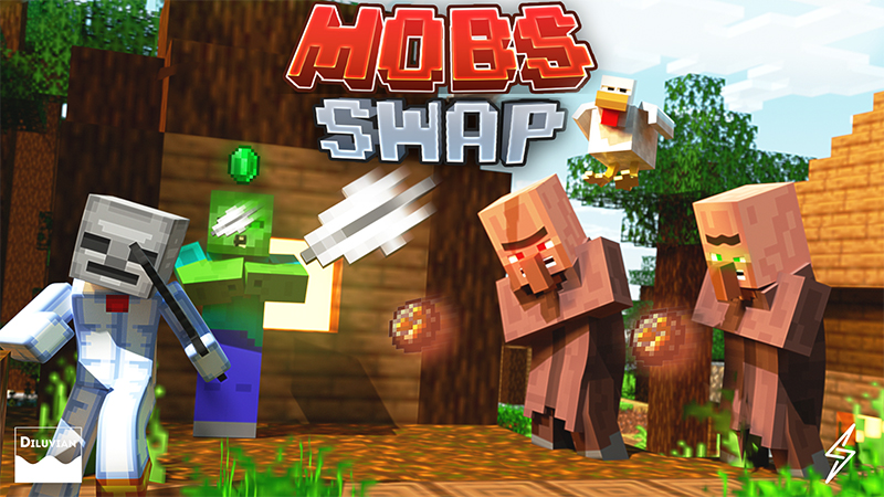 Mobs Swap on the Minecraft Marketplace by Diluvian