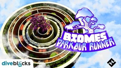 Parkour Runner Biomes on the Minecraft Marketplace by Diveblocks