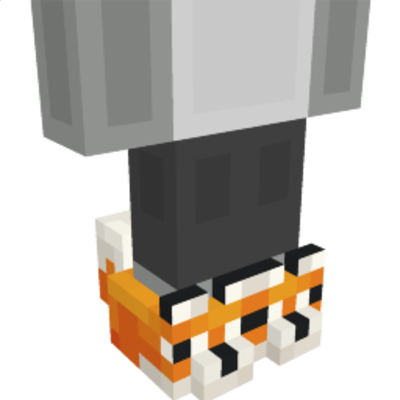 Fox Slippers on the Minecraft Marketplace by Entity Builds