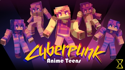 Cyberpunk Anime Teens on the Minecraft Marketplace by Hourglass Studios