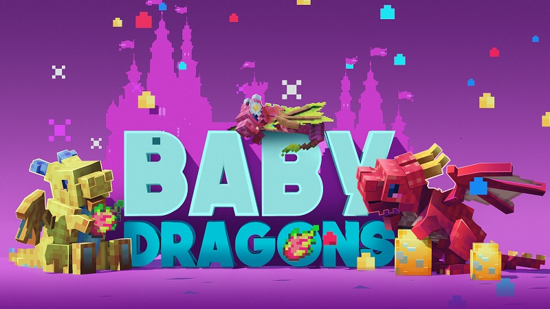 Baby Dragons on the Minecraft Marketplace by Nitric Concepts