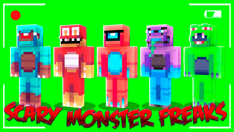 Scary Monster Freaks on the Minecraft Marketplace by Pickaxe Studios
