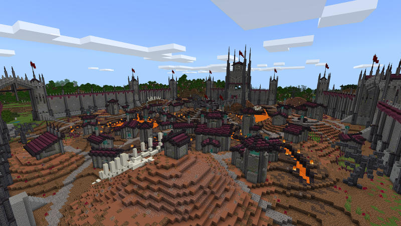Fissure Citadel on the Minecraft Marketplace by BLOCKLAB Studios