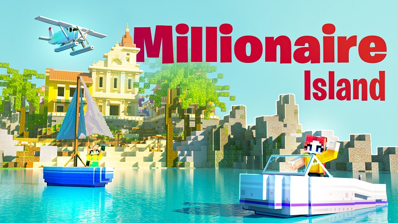 Millionaire Island on the Minecraft Marketplace by BBB Studios