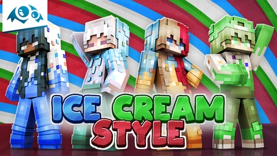 Ice Cream Style on the Minecraft Marketplace by Monster Egg Studios