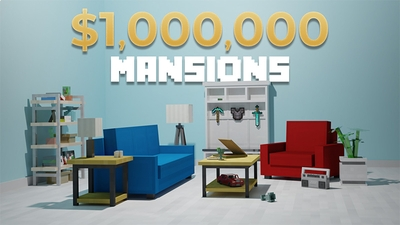 1000000 Mansions on the Minecraft Marketplace by Aurrora