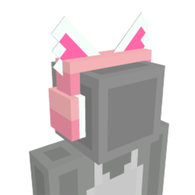 Cat Headphone on the Minecraft Marketplace by Cyclone