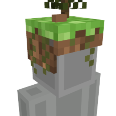 Skyblock Hat on the Minecraft Marketplace by Cleverlike