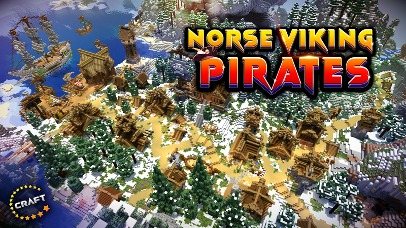 Norse Viking Pirates on the Minecraft Marketplace by The Craft Stars