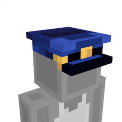 Police Hat on the Minecraft Marketplace by Pathway Studios