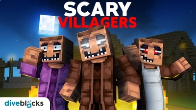 Scary Villagers on the Minecraft Marketplace by Diveblocks