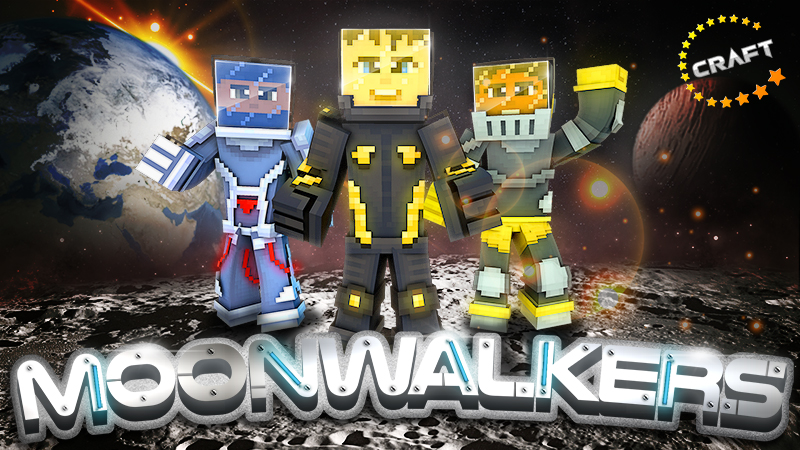 Moonwalkers on the Minecraft Marketplace by The Craft Stars