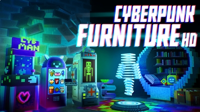 Cyberpunk Furniture HD on the Minecraft Marketplace by House of How