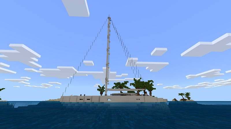 Super Yacht on the Minecraft Marketplace by Nitric Concepts
