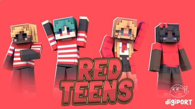 Red Teens on the Minecraft Marketplace by DigiPort