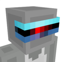 Scanning Cyber Visor on the Minecraft Marketplace by Dots Aglow