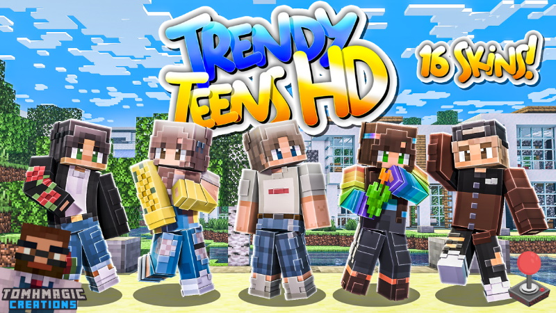 Trendy Teens HD on the Minecraft Marketplace by Tomhmagic Creations