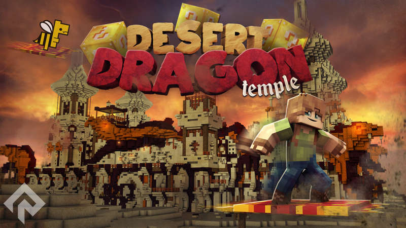 Desert Dragon Temple on the Minecraft Marketplace by RareLoot
