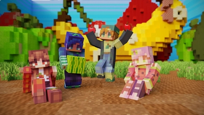 Fruit Friends Forever on the Minecraft Marketplace by CubeCraft Games