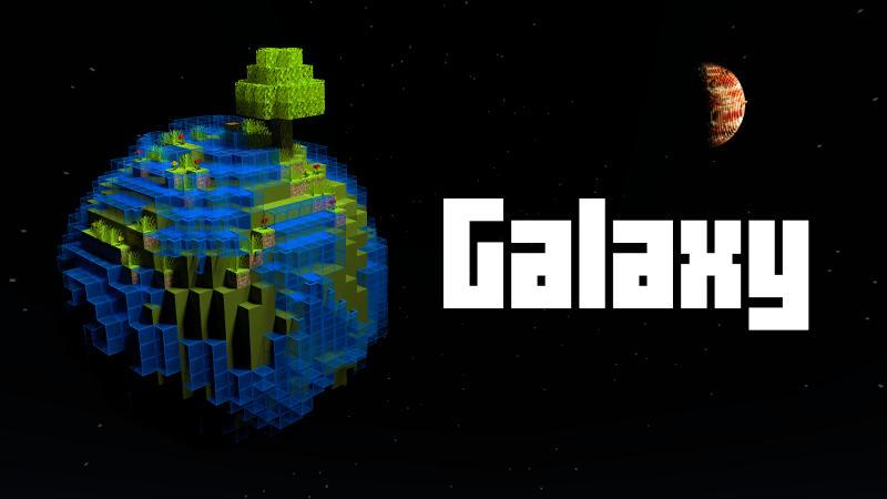 Galaxy on the Minecraft Marketplace by BLOCKLAB Studios