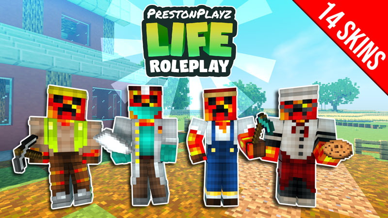 PrestonPlayz Life Roleplay on the Minecraft Marketplace by Meatball Inc