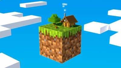 One Block Sky Survival on the Minecraft Marketplace by BLOCKLAB Studios