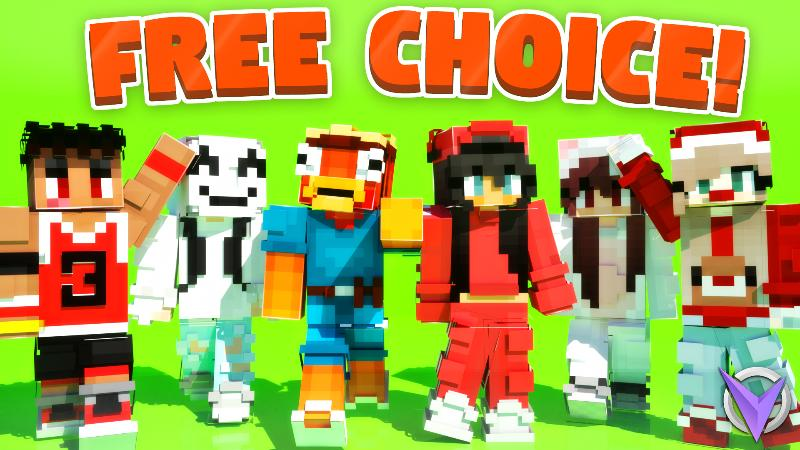 Free Choice on the Minecraft Marketplace by Team Visionary