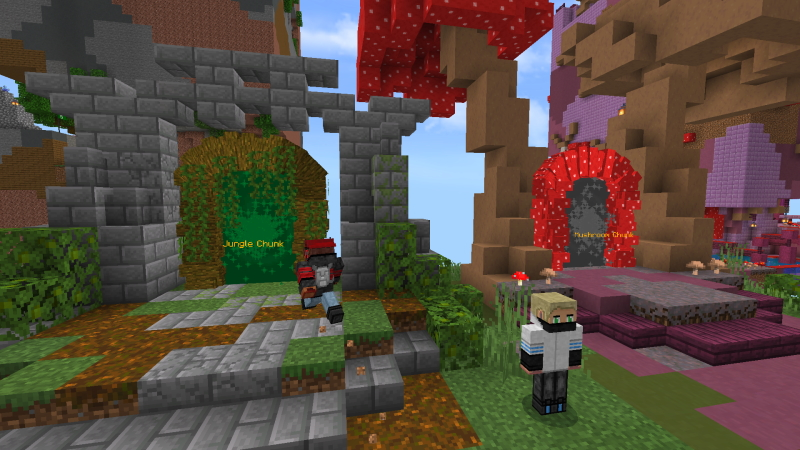 Parkour Chunks by GoE-Craft